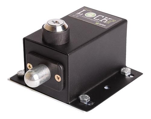 trava eletromagnética portão eletrônico lock plus ipec