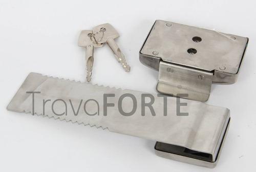 trava forte segurança porta de vidro correr - lâmina de 20cm