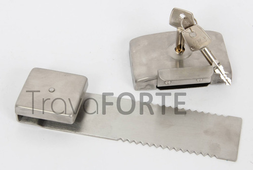 trava jbm encaixe segurança porta vidro correr lâmina 20cm