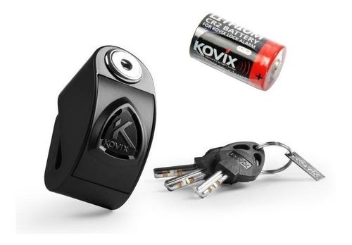 trava para disco de moto com alarme kovix kd6 proteção