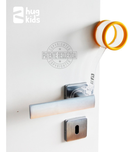 trava porta salva dedos: kit c/ 5 gira miga (bebe e criança)