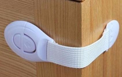 trava portas para crianças - armário, porta e gaveta 05 un