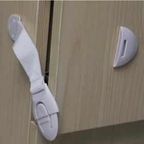 Trava Rede Proteção Segurança Portas Guarda Roupas Puxador