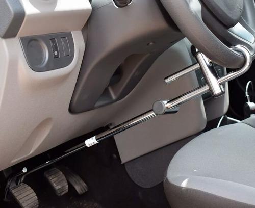 trava segurança carro volante