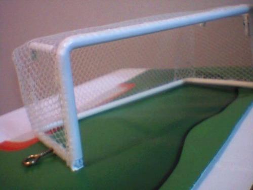 trave baliza goleira  oficial  para futebol de mesa (par)