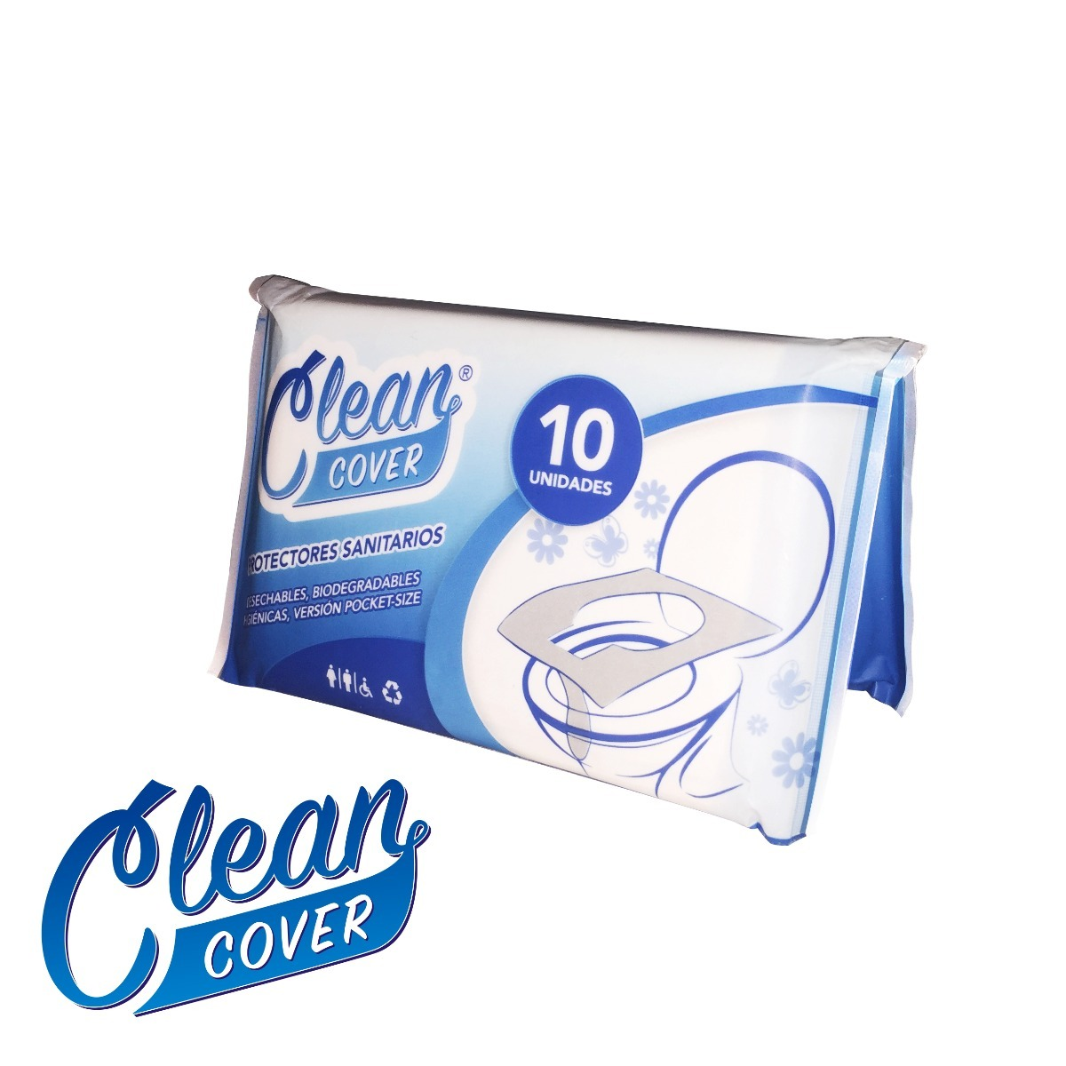 travel pack 10 cobertores de inodoro desechables clean cover 57