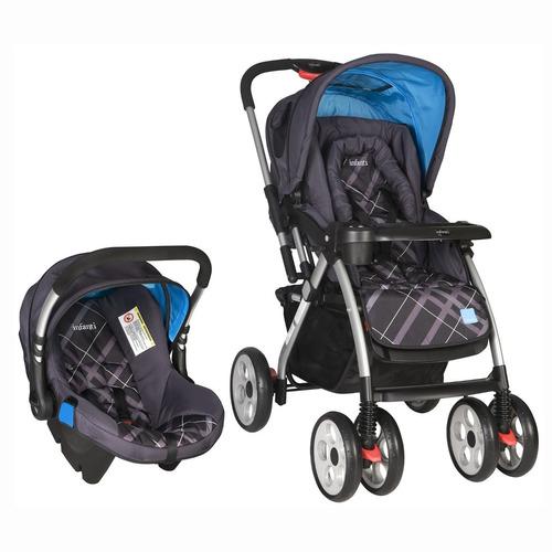 travel system infanti tucson g750 coche cuna + silla de auto