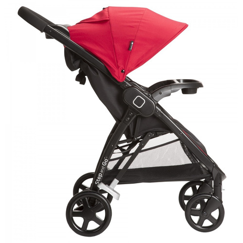 travel system step and go rojo safety + regalo