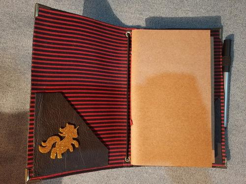 traveller notebook em couro