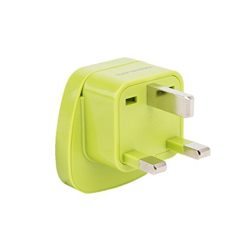 travelon uk conector a tierra conector enchufe lime