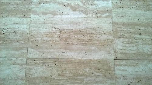 Travertino r stico a la veta 30 x 60 cm espesor 2 cm u s for Travertino a la veta
