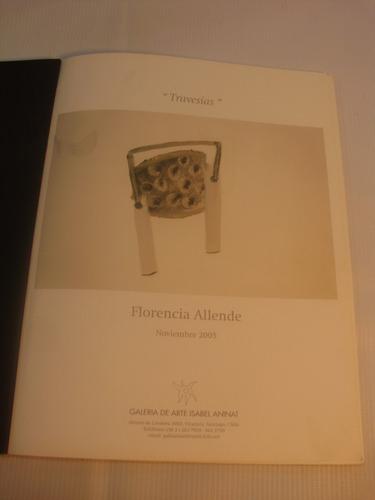 travesias. florencia allende. catalogo arte 2005