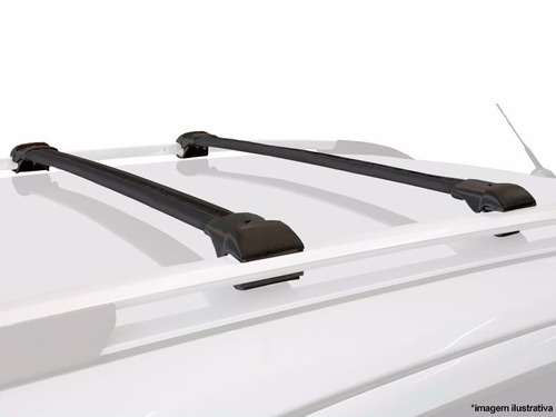 travessa de teto qq 2011 em diante em aluminio cor preto