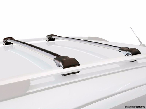 travessa de teto subaru legacy wagon 1989 a 2002 prata