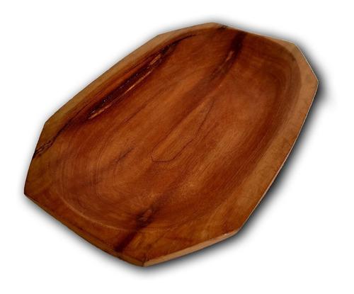 travessa gamela de madeira para petisco   ref: 9428