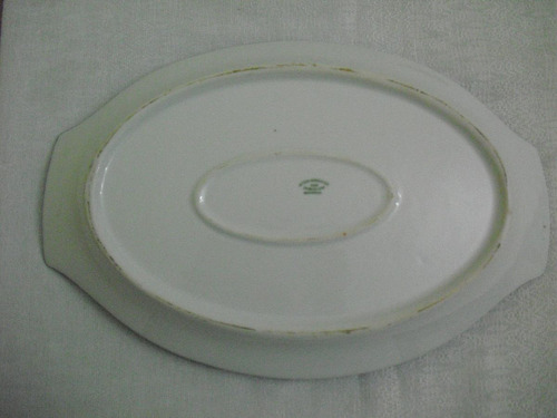 travessa oval porcelana master american