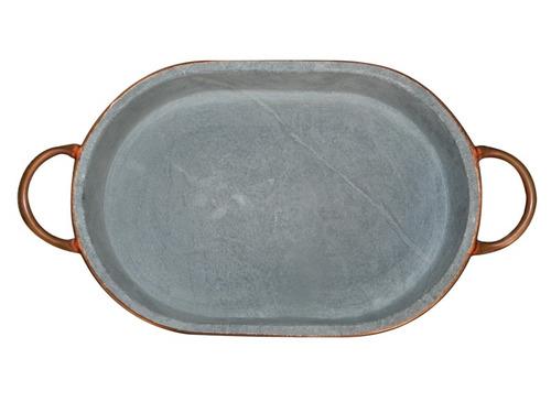 travessa para lasanha - pedra sabão 43 x 22 cm