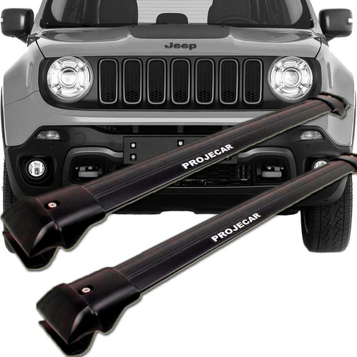 travessa rack longarina jeep renegade - preto