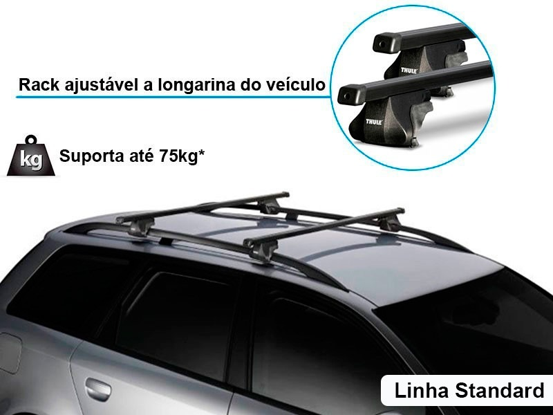 Travessa Teto Nissan Grand Livina - Rack Grand Livina ...