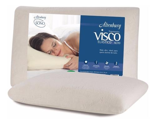 travesseiro altenburg viscoelástico alto 48x68