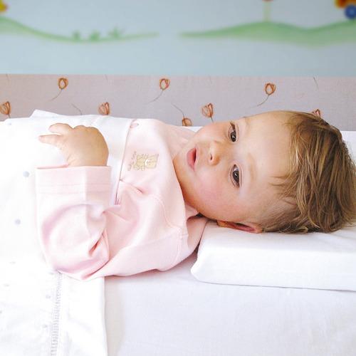travesseiro anti-sufocamento 100% algodão - air - kiddo