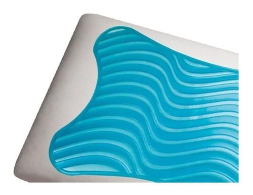 travesseiro duoflex gelflex nasa visco gn1101 50x70
