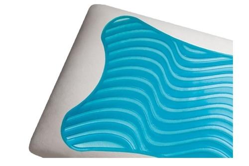 travesseiro duoflex gelflex nasa visco gn1101 p/ fronha 50x70