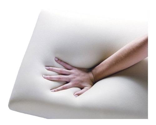 travesseiro duoflex nasalatéx visco nl1100 c/capa p/ fronha 50x70