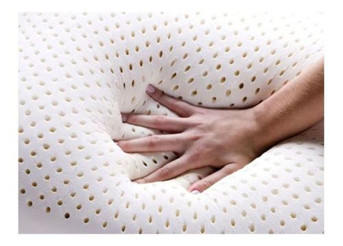 travesseiro duoflex real látex ls1100 c/capa 50x70