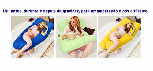 travesseiro gigante 170x80cm elimina dor entrega garantida