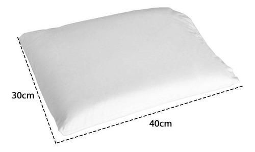 travesseiro nasa baby antissufocante fibrasca