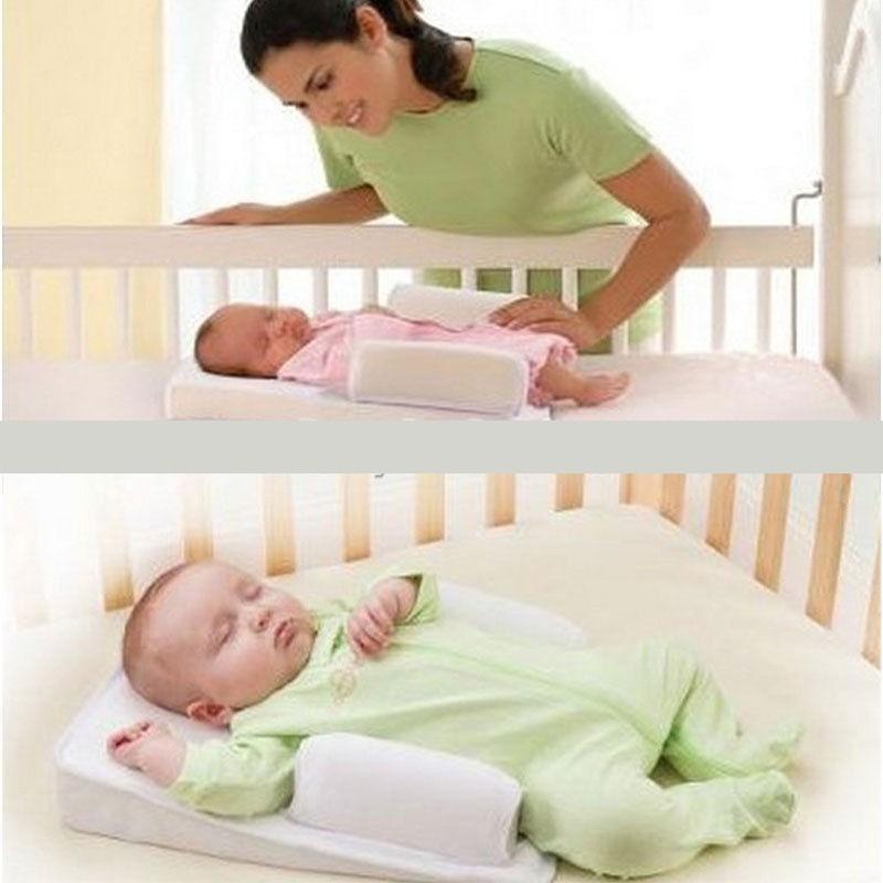 Travesseiro Segura Beb 234 Rolinho De Apoio E Anti Refluxo