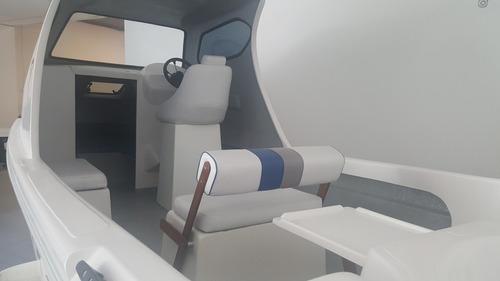 travessia cabin 6.30 con mercury 60 hp