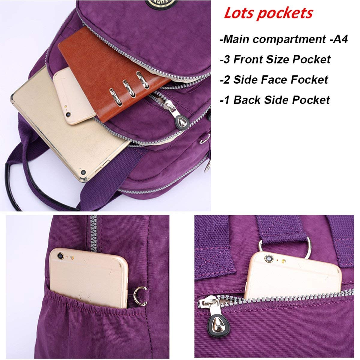 976f6cc743b travistar mini mochila para mujeres niñas nylon ligero moch. Cargando zoom.