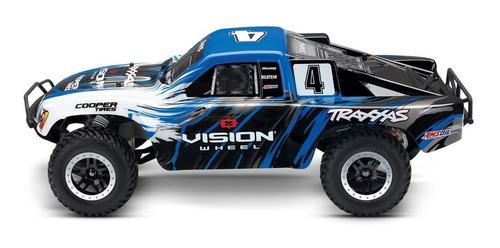 Traxxas 1/10 Escala De Slash 2wd Short Course Truck Racing C