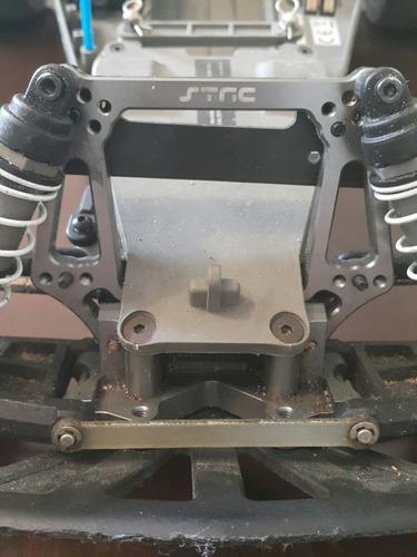 traxxas rustler vxl + upgrades + peças sobrando