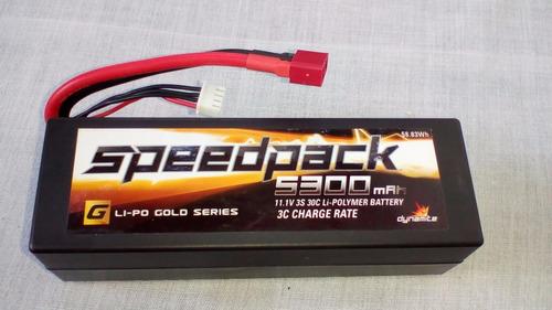 traxxas speedpack 5300 mah11.1v 3s 30c li polymer battery