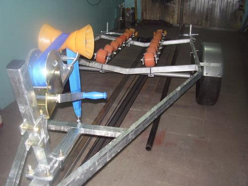 trayler nuevos para lanchas o semi rigidos motos de agua
