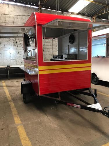 treilher 2,00 m food truck 2,00 m sob encomenda