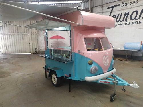 treilher kombi food truck corujinha