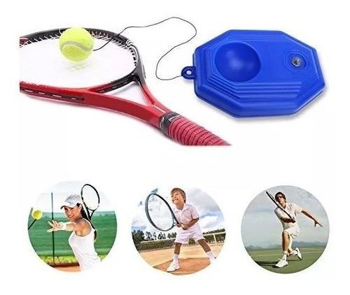 treinador de tenis autodidatico base de chão bola elastico