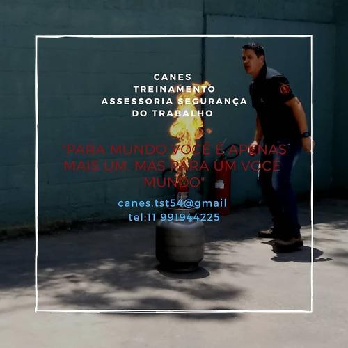treinamento  brigada incêndio/ documentações/ ppra/pcmso