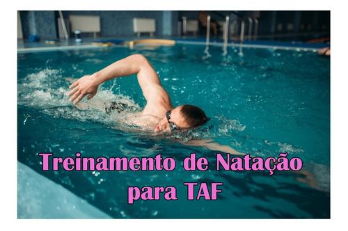 treinamento de natação para taf