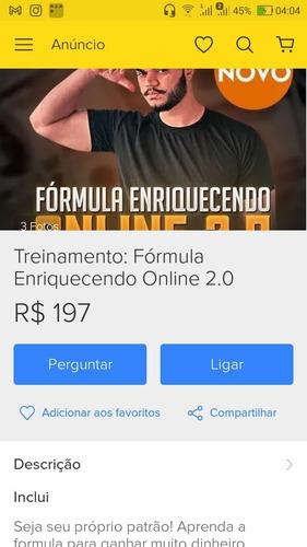 treinamento :formula enriquecimento online 2.0