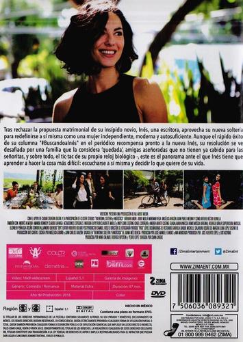 treintona soltera y fantastica barbara mori pelicula dvd