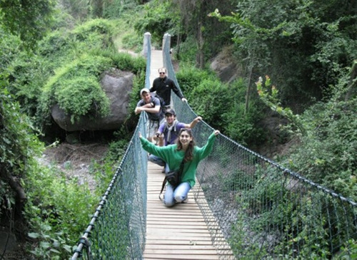 trekking aguas de san ramon