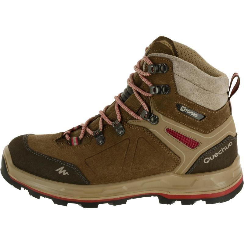 fa4cdef75db Cargando zoom... botas de trekking impermeables trek 100 mujer quechua