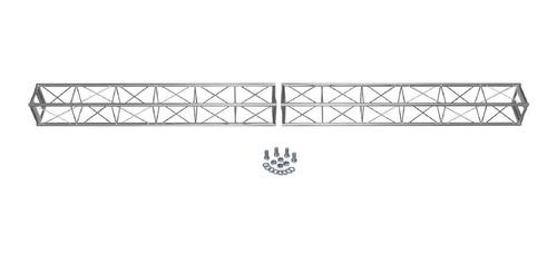 treliça 3m a20 em 2 torres de 1,5m p/ montagens auratec