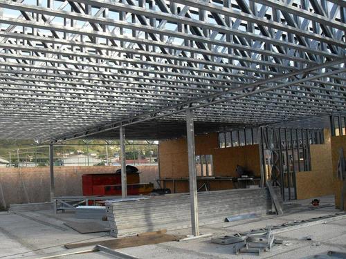 treliças 40cm aço galvanizado steel frame 6 metros.