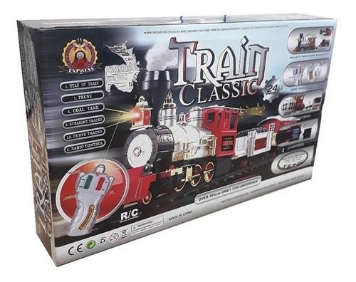 trem classico ferrorama com controle remoto sem fio completo